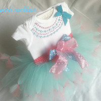Adorable tutu perfect for Easter! Can be purchased with or without bodysuit