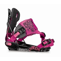 Flow Minx-SE 2013/2014 (Hot Pink) Snow Bindings Womens Bindings at 7TWENTY Boardshop, Inc