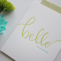Hello Dear Friend Greeting Card
