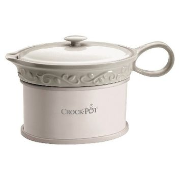 Crock-Pot® Electric Gravy Warmer - White