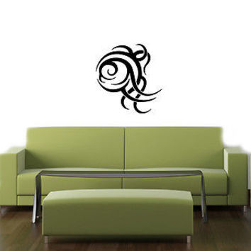 TRIBAL TATTOO ABSTRACT ART DESIGN CUTE WALL VINYL STICKER  DECALS ART MURAL T144