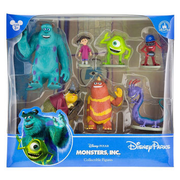 disney parks pixar monsters inc playset cake topper new with box