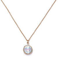 Iridescent Charm Necklace
