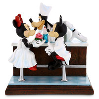 Mickey and Minnie Mouse with Goofy ''After the Prom'' Figurine