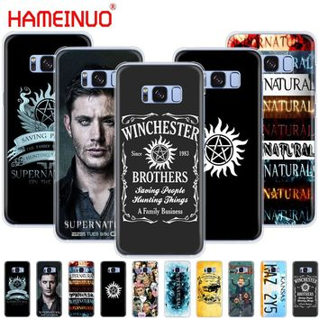 HAMEINUO Supernatural Jared Padalecki cell phone case cover for Samsung Galaxy S9 S7 edge PLUS S8 S6 S5 S4 S3 MINI