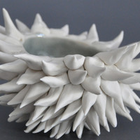 Urchin Bowl - Grey Sky