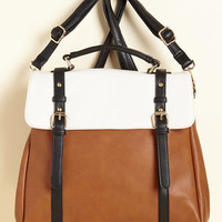 Stop, Rock, and Roll Convertible Bag in Base Tones | Mod Retro Vintage Bags | ModCloth.com