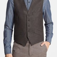 Men's Ted Baker London 'Jaguar' Wool Vest,