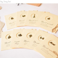9 pieces a set Christmas Birthday Gift Cards [9036958852]