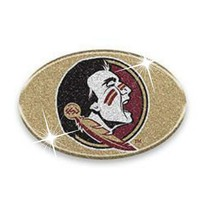 Florida State Seminoles Glitter Infused Bling Car Emblem