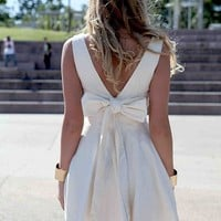 TIE BOW BACK DRESS SOLD OUT , DRESSES, NEW ARRIVALS, Australia, Queensland, Brisbane
