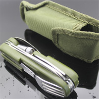 Stainless Folding Camping Tool Multi Function