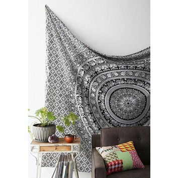 Wall Tapestry/Bed Spread Elephant Printed Bohemian