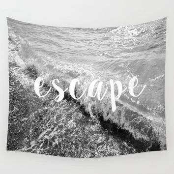 Escape Wall Tapestry by ALLY COXON