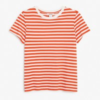 Monki | View all new | Stretch cotton tee