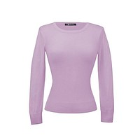 MAK Pullover Sweater in Orchid