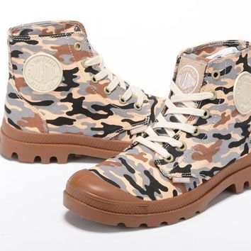 Palladium Pampa Hi Originale Tx High Boots Camouflage Brown - Beauty Ticks