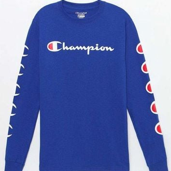 DCCKYB5 Champion Repeat Long Sleeve T-Shirt