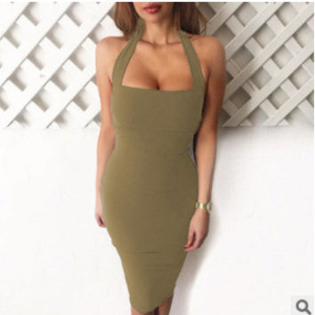 Sexy One Piece Dress [4966035588]