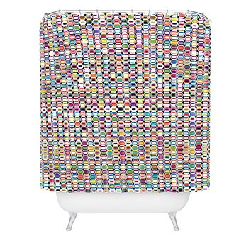 Sharon Turner It All Adds Up Shower Curtain