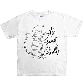 Cats Against Catcalls #2 -- Youth/Toddler T-Shirt