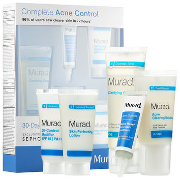 Sephora: Murad : Complete Acne Control 30-Day Kit : skin-care-sets-travel-value