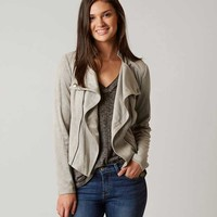 ROMEO & JULIET COUTURE FAUX SUEDE JACKET