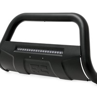 Black Bull Bar w/ Integrated Black Series 20-inch LED Light Bar 2005-2015 Toyota Tacoma 4WD/2WD