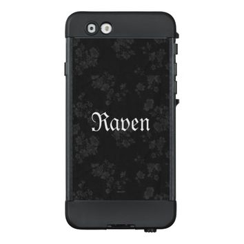 Gothic Eternal *Your Name* Black LifeProof NÜÜD iPhone 6 Case