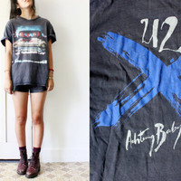 The Milk Thief - U2 t-shirt thin faded