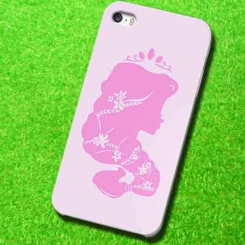 Rapunzel silhouette For iPhone, Samsung Galaxy and iPod Cases