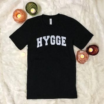 OKOUFEN hygge tshirt casual funny cute letter print tee women mens unisex fashion tumblr short sleeve tops O-neck high quality