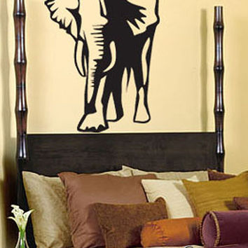 Vinyl Wall Art Decal Sticker Lucky Elephant Decoration #142