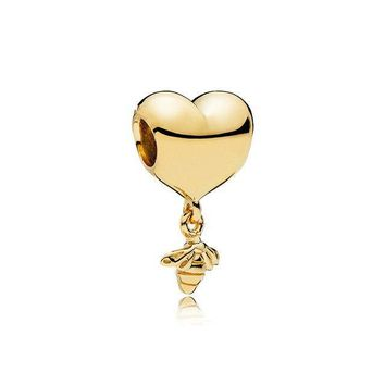 Bee Charms and Pandora Style Bracelets--Even More Fun! 925 Silver & Gold Plated