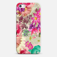 SUMMER BREEZE Phone Case // #floral #iphone #iphone6 #case #cover #gilry #summer #cute #pink #mint #roses #collage