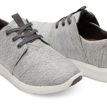 GREY DIAMOND MELANGE WOMEN'S DEL REY SNEAKERS
