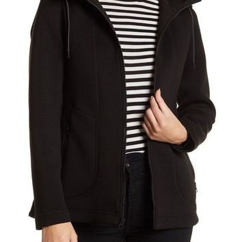 Kenneth Cole New York | Bonded Scuba Zip Hoodie