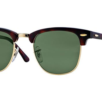 Ray Ban RB3016 Clubmaster Sunglasses Bundle - 2 Items