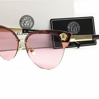 Versace Women Casual Popular Summer Sun Shades Eyeglasses Glasses Sunglasses [2974244587]