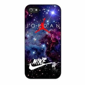 DCKL9 Nike Air Jordan Jump Man Air Nebula iPhone 5s Case