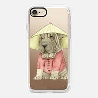 Shar pei (transparent) iPhone 7 Case by Barruf | Casetify