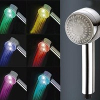 Water Glow LED 7 Colors Changing Lights Shower Head