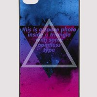 Gradient Harajuku Triangle Cellphone Case for Iphone4/4s S00