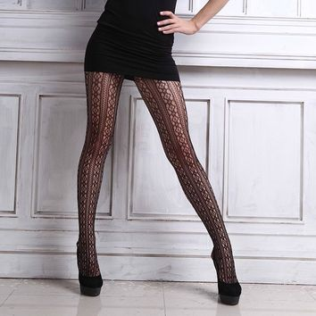 2016 Women's  Sexy Tights Stockings Seamless Sheer Patterned Fishnet Pantyhose Tights Stockings
