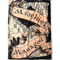 Harry Potter Mischief Managed Throw