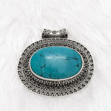 Mermaid's Garden Indian Turquoise Necklace