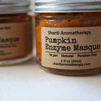 Pumpkin Enzyme Masque - Skin Brightening Mask and Exfoliation Treatment - Skin Firming Mask