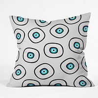 Elisabeth Fredriksson Space Sushi 2 Throw Pillow