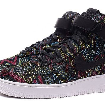 LMFON Nike Air Force 1 Bhm Af1 836227-001 Black For Women Men Running Sport Casual Shoes Sneakers