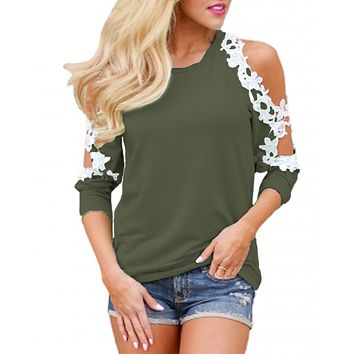 Fox Meadow Floral Lace Top